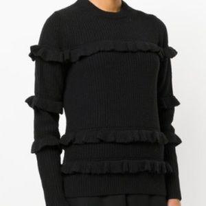 💕💕HOST PICK!!! NWT Michael Kors Ruffle Sweater